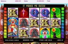 Ein Bild des kostenlosen Casino-Spiels Big Top 20