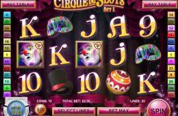 Online-Automatenspiel Cirque du Slots