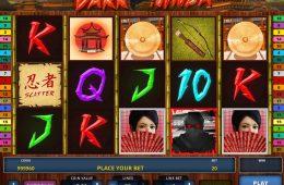 Spielen Sie kostenlos Online-Automatenspiel Dark Ninja zum Spaß