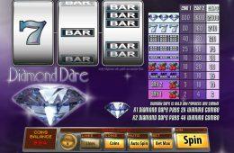 Kostenloses Automatenspiel Diamond Dare ohne Einzahlung