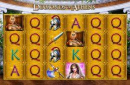 Spielautomat Diamonds of Athens ohne Einzahlung