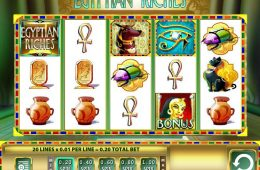 Spielen Sie gratis Spielautomat Egyptian Riches zum Spaß