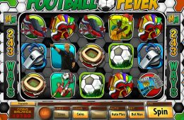 Kostenloses Online-Automatenspiel Football Fever