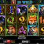 Ein Bild des Spielautomaten Forest Nymph