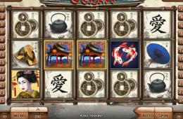 Spielen Sie Automatenspiel Geisha ohne Einzahlung online