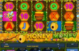 Gratis Online-Automatenspiel Honey Money