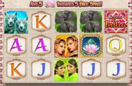 Gratis Spielautomat Jewels of India ohne Einzahlung spielen