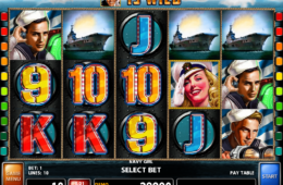 Online-Casino-Automatenspiel Navy Girl