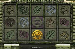 Ein Bild des Online-Spielautomaten Pachamama