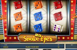 Online-Spielautomat Snake Eyes
