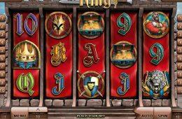 Ein Bild des Spielautomaten The King