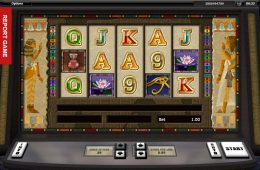 Bild des Online Casino Spielautomaten Tutankhamun