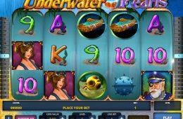 Spielen Sie gratis Spielautomat Underwater Pearls