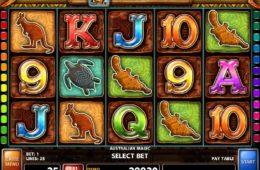 Kostenloser Spielautomat Australian Magic ohne Einzahlung