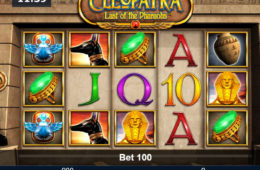 Spielautomat Cleopatra - Last of the Pharaohs ohne Einzahlung spielen