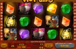 Spielen Sie gratis Automatenspiel Hot Gems online