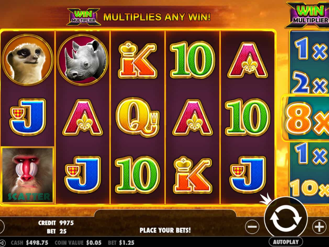 Spiele Hot Safari Scratchcard - Video Slots Online