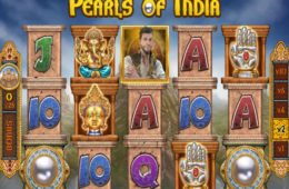 Online-Automatenspiel Pearls of India