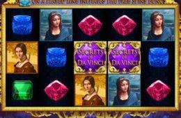 Gratis Online-Automatenspiel Secrets of Da Vinci zum Spaß spielen