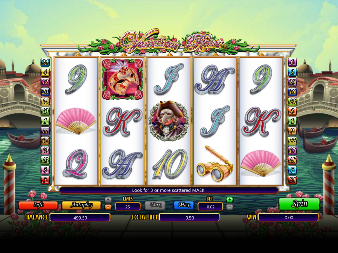 Spiele Venetian Rose / Scratch - Video Slots Online