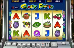 Spielen Sie kostenlos das Crazy Fruits Online-Casino-Spiel