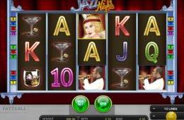Ein Bild des kostenlosen Jazz Nights Casinos-Spielautomaten