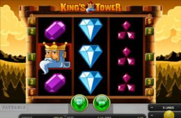 Gratis King's Tower Online-Spielautomat