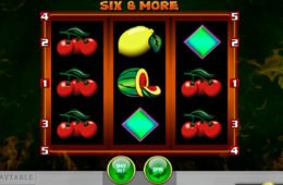 Six and More Spielautomat zum Spaß spielen