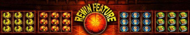 Rewin-Feature des Voodoo Shark Online-Automatenspiels