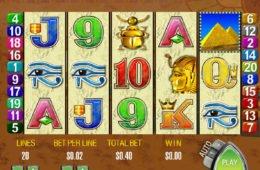 Queen of the Nile Online-Spielautomat von Aristocrat
