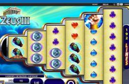 Spiele Zeus III Spielautomaten ohne Download