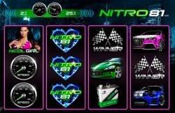 Ein Bild des kostenlosen Spielautomaten Nitro 81