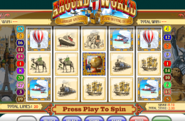 Jugar tragamonedas Around the Worldgratis