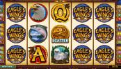 Imagen de la tragaperras gratuita Eagles Wings