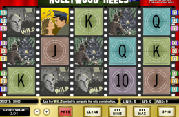 Máquina tragamonedas Hollywood Reels
