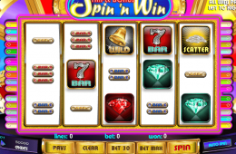 Máquina tragamonedas Triple Bonus Spin´n Win en línea