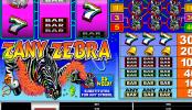 Tragaperras online gratis Zany Zebra