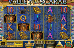 Valley of the Scarab online slot gratis