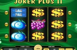 Tragamonedas online de casino Joker Plus II