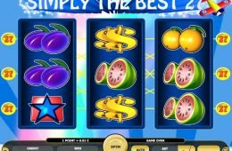 Tragamonedas de casino Simply the Best gratis