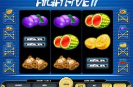 Juega la tragamonedas gratis de casino High Five II