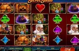 Tragamonedas gratis online Secret Santa