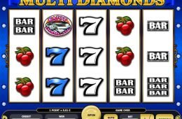 Tragamonedas de casino gratis Multi Diamonds