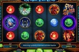 Máquina tragamonedas gratis de casino Magic Portals