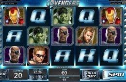 Máquina tragamonedas gratis The Avengers