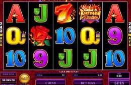 Tragaperras de casino Burning Desire