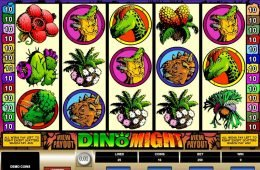 Tragamonedas de casino Dino Might
