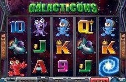 Tragamonedas de casino Galacticons