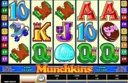 Máquina tragamonedas Munchkins en línea