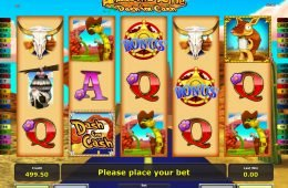Máquina tragamonedas de casino Armadillo Artie